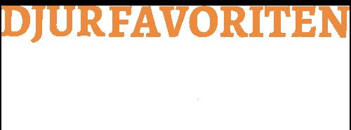 Djurfavoritens logotype.